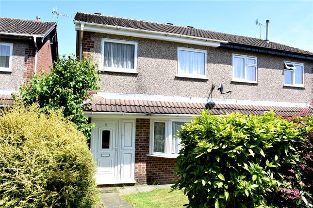 Thumbnail Semi-detached house to rent in Anson Walk, Ilkeston, Derbyshire