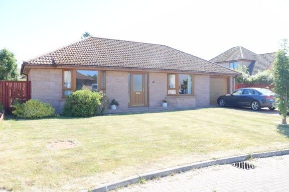 Thumbnail Detached bungalow to rent in Weddershill Court, Hopeman, Elgin