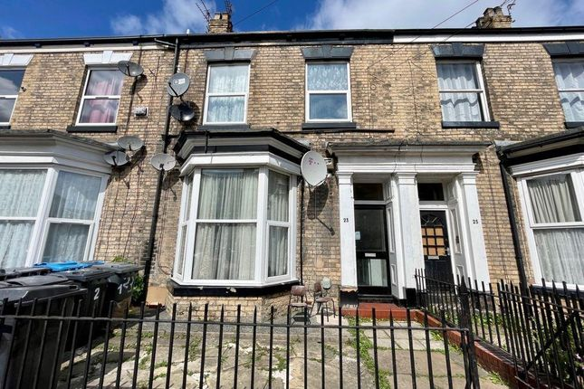 Thumbnail Block of flats for sale in Harley Street, Hull