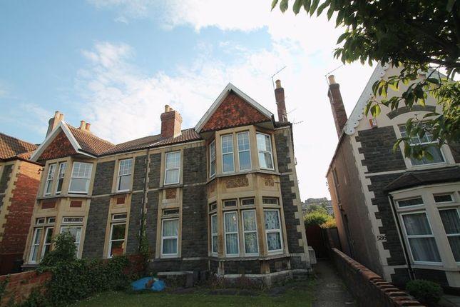 Thumbnail Flat to rent in Bath Road, Brislington