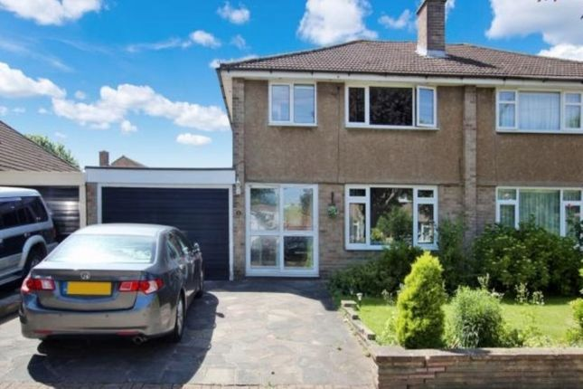 Thumbnail Semi-detached house to rent in Mosyer Drive, Orpington