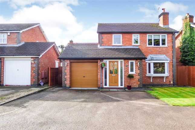 Thumbnail Detached house for sale in Devitt Way, Broughton Astley, Leicester