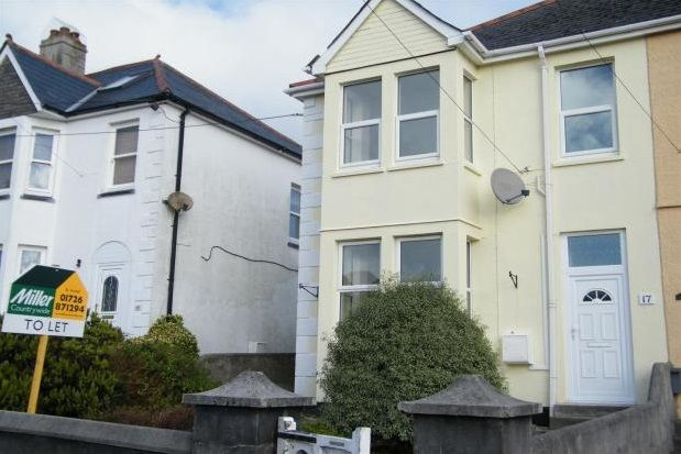 Thumbnail Property to rent in Trelawney Road, St. Austell