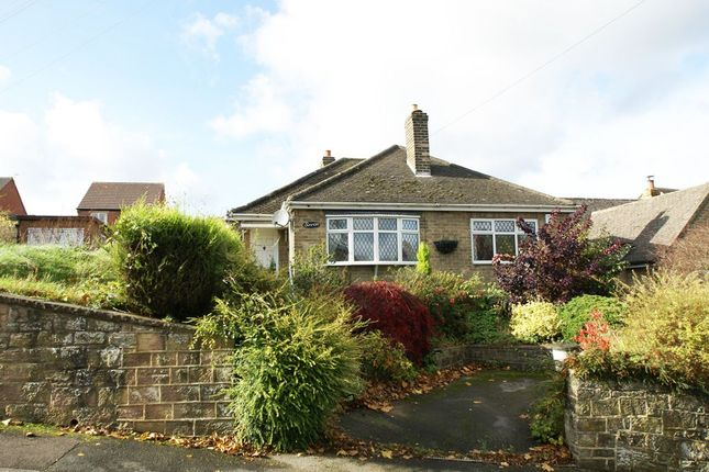 Thumbnail Detached bungalow for sale in Derby Road, Wirksworth, Matlock, Derbyshire