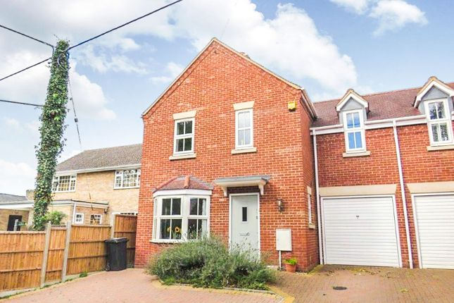 Thumbnail Link-detached house for sale in Walnut Tree Close, Wrestlingworth, Sandy