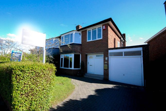 Thumbnail 3 bed semi-detached house for sale in Montagu Avenue, Gosforth, Newcastle Upon Tyne