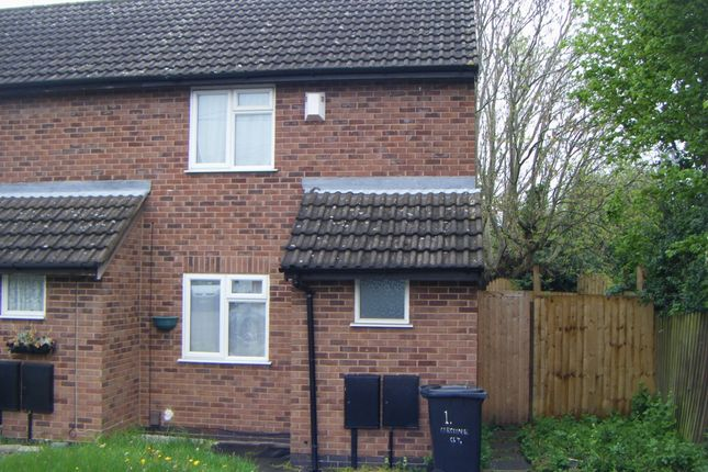 Thumbnail Terraced house to rent in Caroline Court, Leicester
