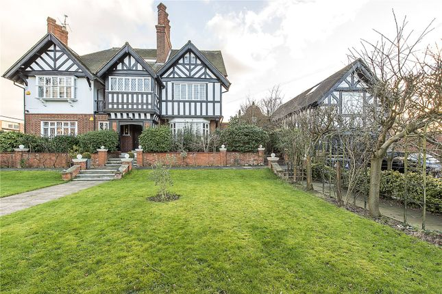 Thumbnail Detached house for sale in Hillcrest Road, Ealing