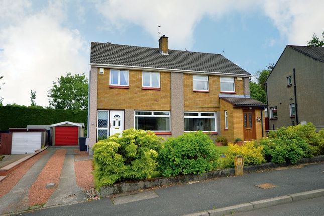 Thumbnail Semi-detached house for sale in 19 Lunan Drive, Bishopbriggs, Glasgow