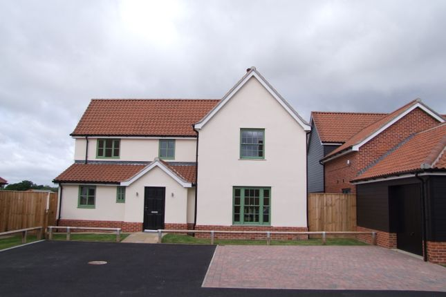 Thumbnail Detached house for sale in Church Road, Cratfield, Halesworth