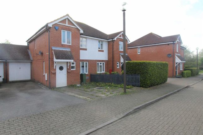 Thumbnail Semi-detached house to rent in Brill Place, Bradwell Common, Milton Keynes