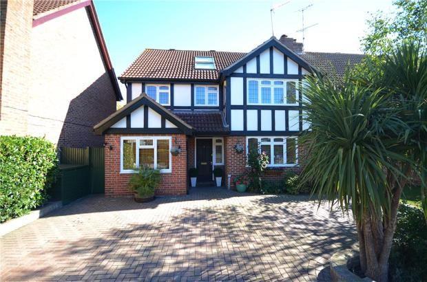 Thumbnail Detached house for sale in Burne-Jones Drive, College Town, Sandhurst