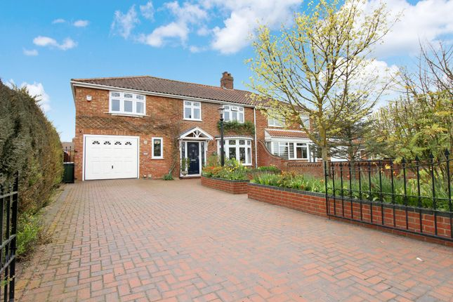 Thumbnail Semi-detached house for sale in Holt Road, Hellesdon, Norwich