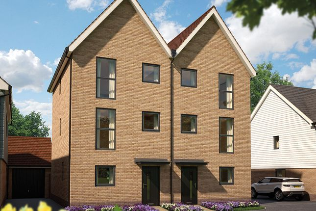 "1 bed town house for sale in ""The Rose"" at Whiting Crescent, Faversham ME13"