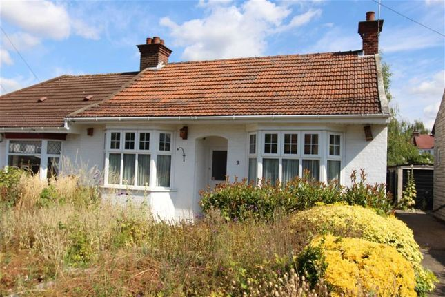 Thumbnail Semi-detached bungalow for sale in Mark Avenue, North Chingford, London