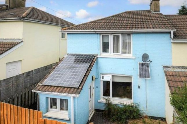 Thumbnail End terrace house for sale in Elm Bank, Buckfastleigh, Devon