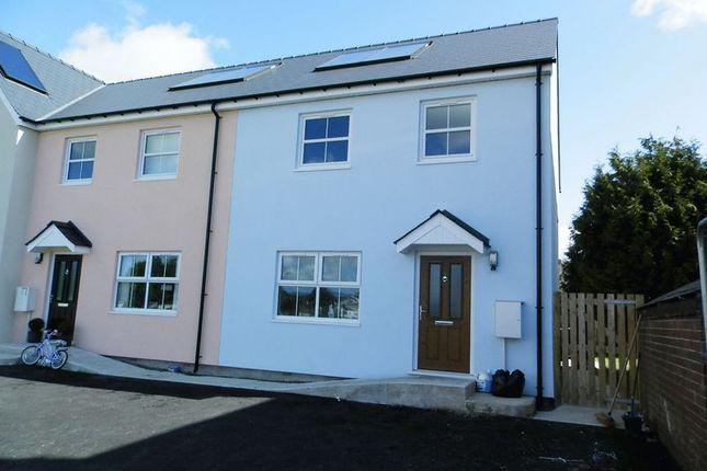 Thumbnail Terraced house for sale in Heol Dewi, Newcastle Emlyn