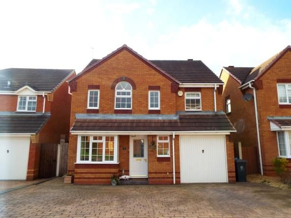 Thumbnail Detached house for sale in Deer Close, Huntington, Staffordshire