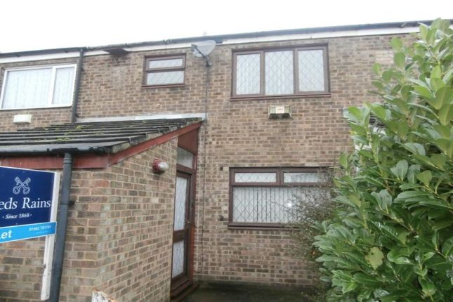 Thumbnail Terraced house to rent in Blandford Close, Bransholme, Hull