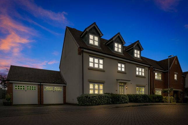 5 bed detached house for sale in Thomas Firr Close, Quorn, Loughborough LE12