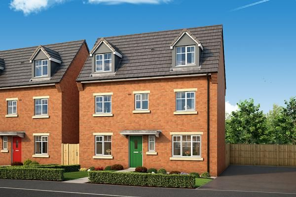 "Thumbnail Property for sale in ""The Elder At The Willows, Dudley"" at Middlepark Road, Dudley"