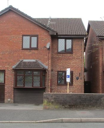 Thumbnail Semi-detached house to rent in 7 Llanover Way, Ysbyty Fields, Abergavenny, Monmouthshire