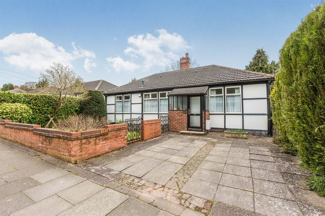 Thumbnail Detached bungalow for sale in Kensington Road, Selly Park, Birmingham