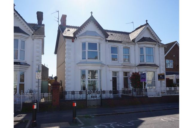 Thumbnail Semi-detached house for sale in Queen Victoria Road, Llanelli