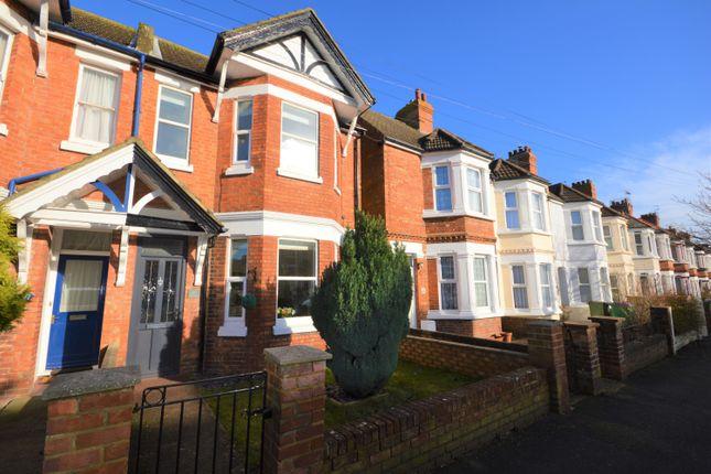 Thumbnail End terrace house for sale in Morehall Avenue, Cheriton, Folkestone