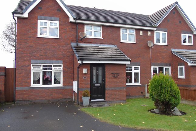 Thumbnail Semi-detached house for sale in Chaser Close, Aintree, Liverpool