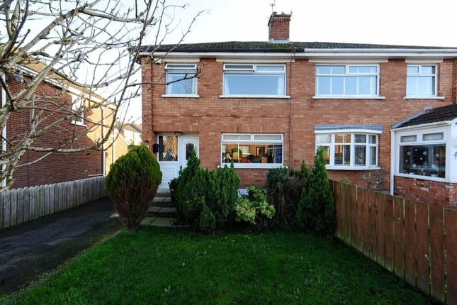 Thumbnail Semi-detached house for sale in South Sperrin, Stormont, Belfast