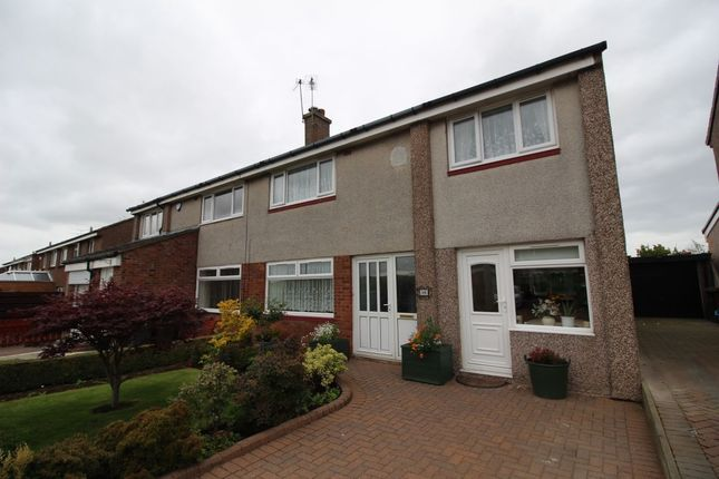 Thumbnail Semi-detached house for sale in Baberton Mains Avenue, Edinburgh