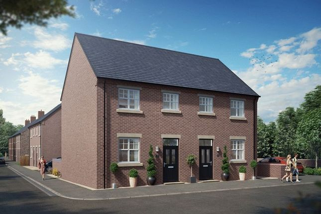 Thumbnail Semi-detached house for sale in Church Street, Silverdale, Newcastle-Under-Lyme