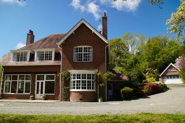 Thumbnail Detached house for sale in Bryn Derw, Llanbadarn Fawr, Aberystwyth, Ceredigion