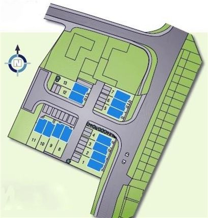 Site Plan of Tollgate Meadows, Evenwood Gate, Bishop Auckland DL14