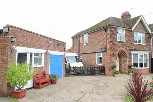 Thumbnail Semi-detached house for sale in Bully Hill Top, Tealby, Market Rasen