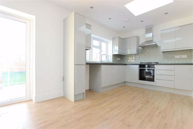 Thumbnail Semi-detached house to rent in Riverbank, Winchmore Hill, London