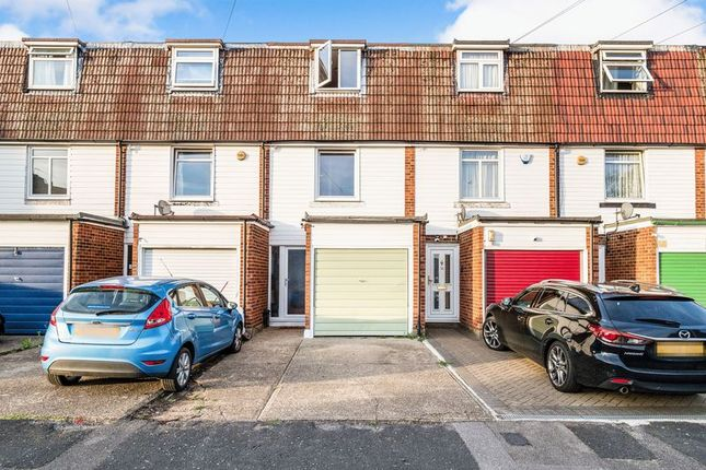 Thumbnail Terraced house for sale in Queens Park Road, Harold Wood, Romford