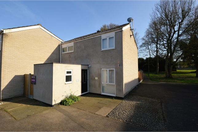 Thumbnail End terrace house for sale in Ashbeam Close, Brentwood