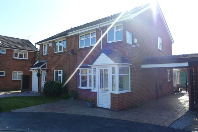 Thumbnail Semi-detached house to rent in Southpool Close, Bramhall, Stockport