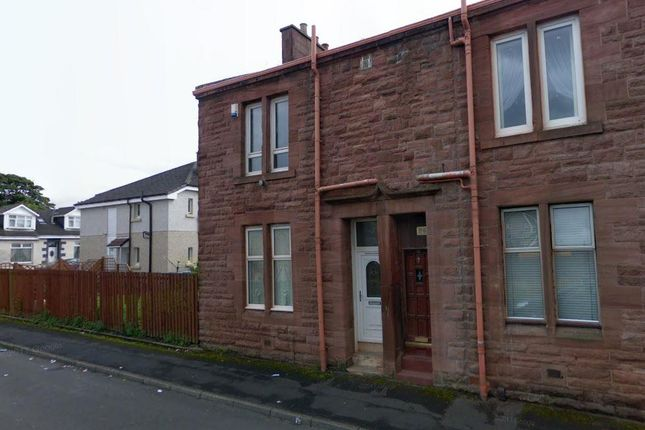 Capture of Stonefield Street, Airdrie ML6