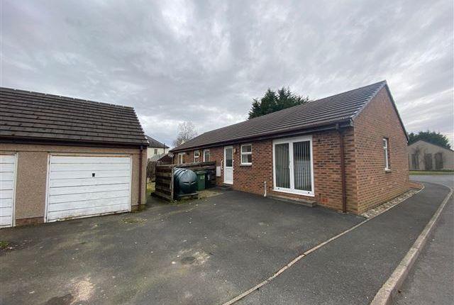 Thumbnail Semi-detached bungalow for sale in Claremont Drive, Longtown, Carlisle, Cumbria