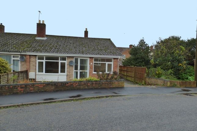 Thumbnail Semi-detached bungalow to rent in St. Annes Close, Beccles