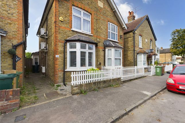 Thumbnail Semi-detached house for sale in Chestnut Grove, Staines-Upon-Thames