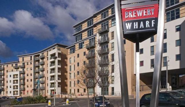 Thumbnail Flat for sale in Admiral Court, Brewery Wharf, Leeds
