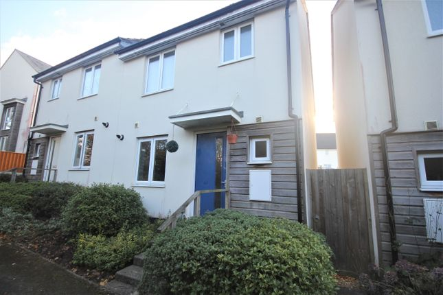 Thumbnail Semi-detached house to rent in Fleetwood Gardens, Widewell, Plymouth