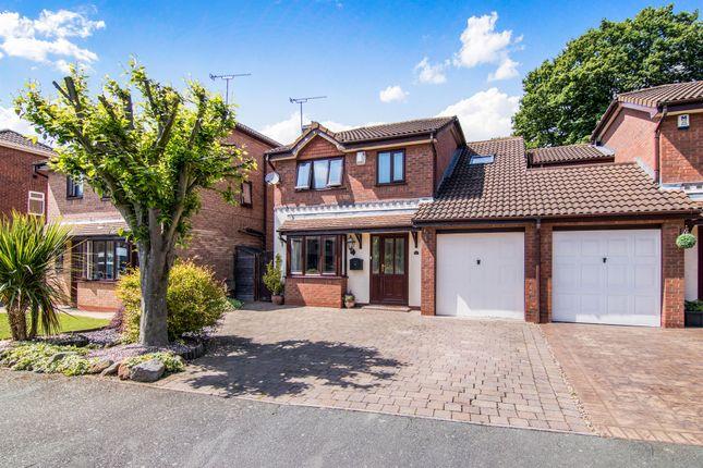 Thumbnail Detached house for sale in Cardiff Close, Great Sutton, Ellesmere Port