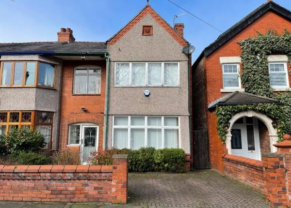 Thumbnail Semi-detached house for sale in 31 Princes Avenue, Crosby, Liverpool