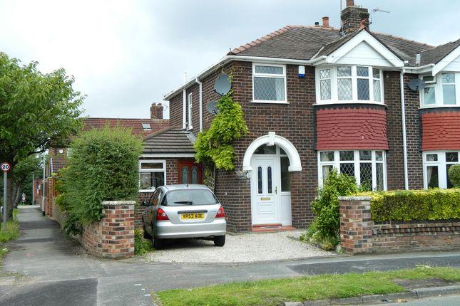 Thumbnail Semi-detached house to rent in Derwent Close, Stockton Heath