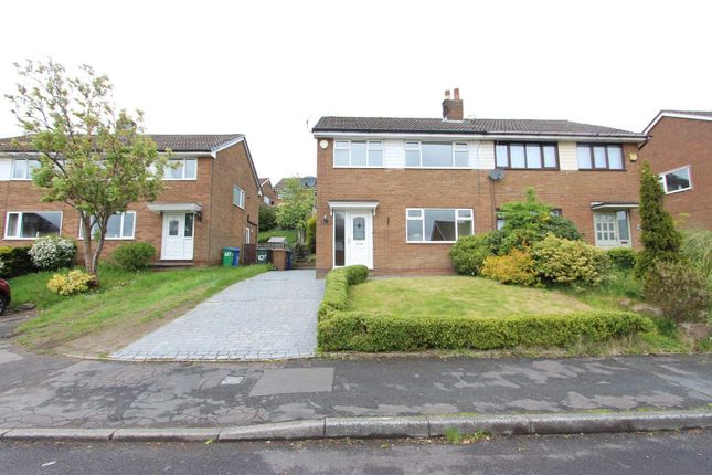 Thumbnail Semi-detached house to rent in Harewood Way, Norden, Rochdale